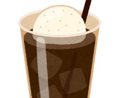 コーヒーフロート アイス 糖質